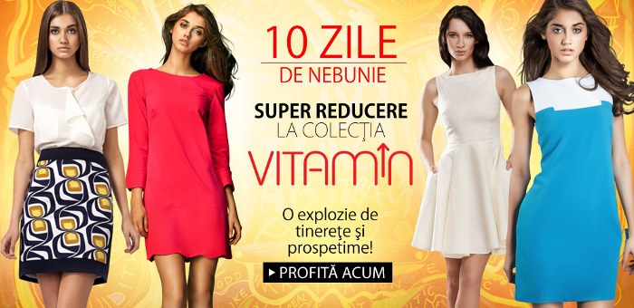 25% reducere la haine de vara pentru femei