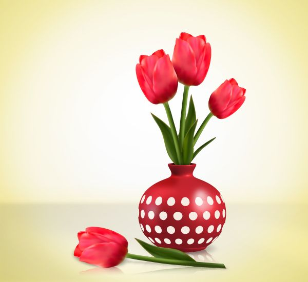 Create Detailed Tulips With Gradient Mesh, Without the Mesh Tool in Illustrator (via a href=http://vector.tutsplus.com/tutorials/illustration/create-detailed-tulips-with-gradient-mesh-without-the-mesh-tool-in-illustrator/vector.tutsplus.com/a)