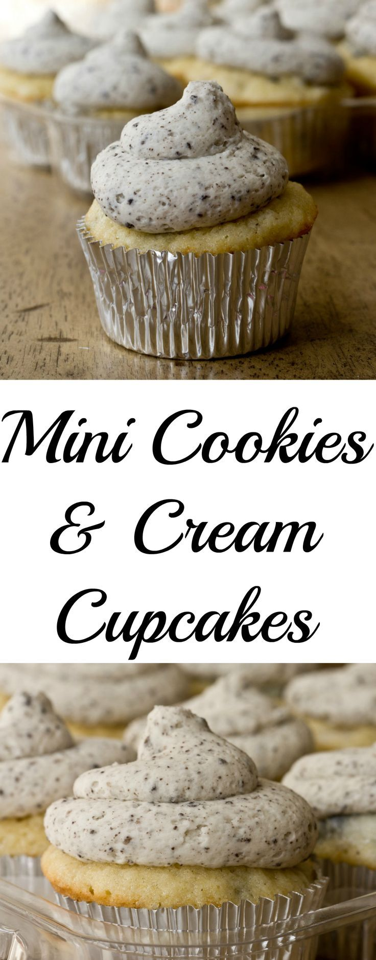 The best oreo cupcakes!