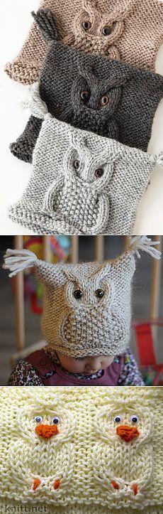 Cap & quot; Owl & quot;