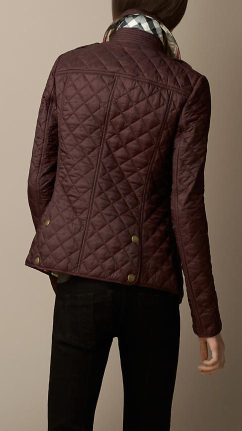 Burberry Brit Diamond Quilted Jacket