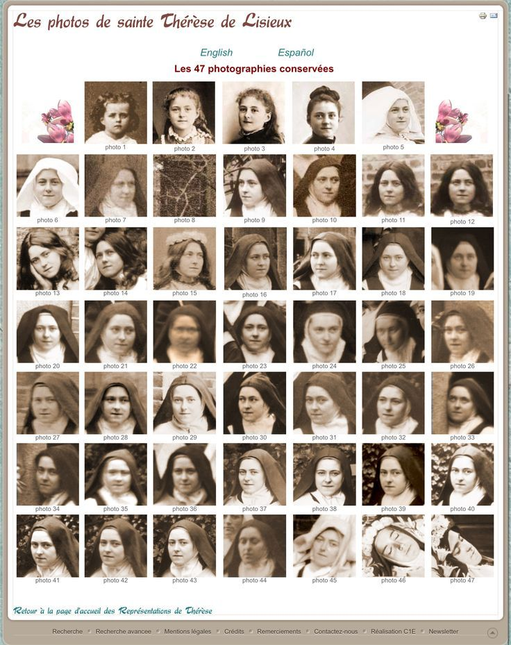 Faces of Thérèse