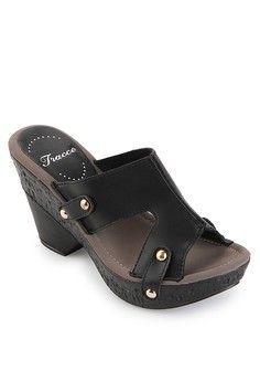 jual sepatu wanita murah berkualitas: Sepatu wanita Tracce Female Wedge Sandal