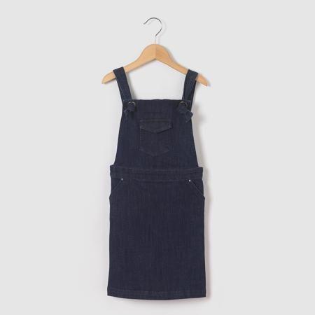 Платье-комбинезон джинсовое 3-12 лет  — 1619.1р. --------------- Платье-комбинезон джинсовое . 1 карман в стиле вестерн на нагруднике . 2 кармана по бокам. Состав и описание : Материал  Деним стрейч 98% хлопка, 2% эластана Длина выше колен.Марка    abcd'RУход :Машинная стирка при 30°C, с одеждой подобных цветов.Стирать и гладить с изнанки..Машинная сушка на обычном режиме..Гладитьпри умереннойтемпературе.