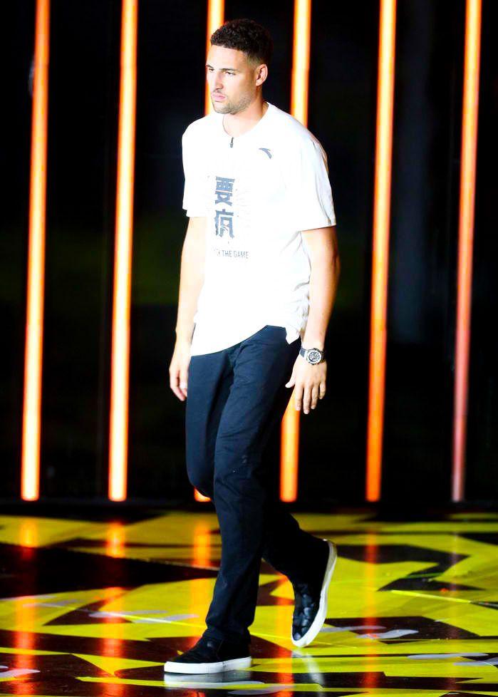 Klay Thompson at the Kids Choice Sports Awards