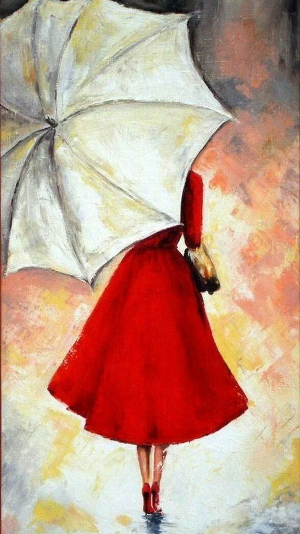 BEAUTIFUL YOUNG GIRL WHITE DRESS FISHING /& BUTTERFLY PAINTING ART CANVAS PRINT