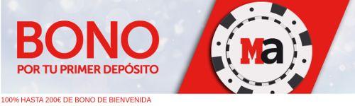 el forero jrvm y todos los bonos de deportes: marca apuestas casino bono 200 euros