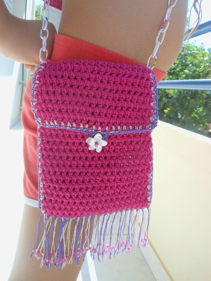 Crochet purse handmade by Elena