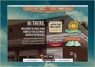 Website design by Think Baseline: Freez King #website #design #webdesign #graphicdesign #interactive