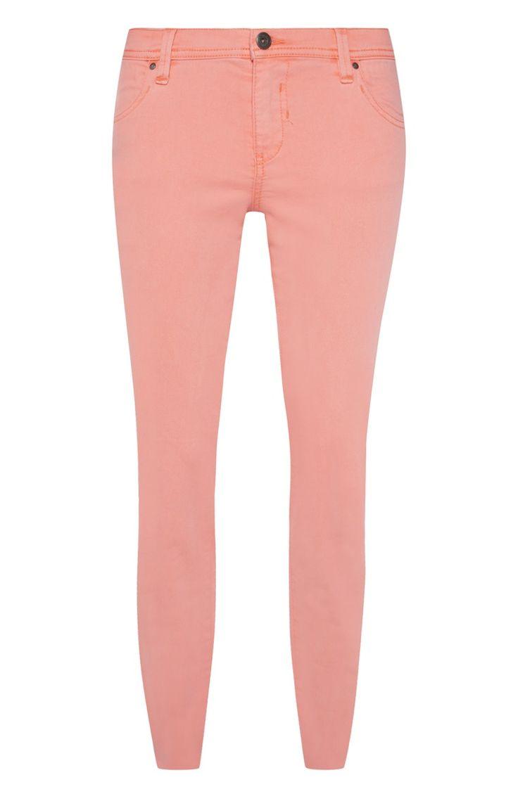 Coral skinny jeans £11