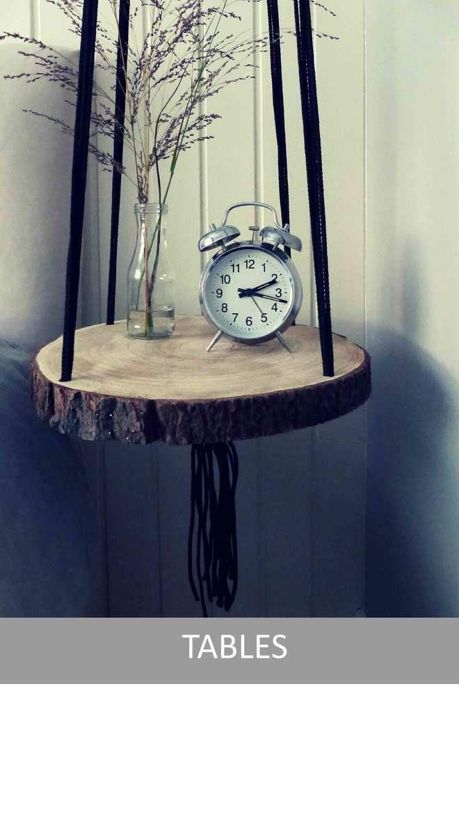 Handgemaakte plantenhanger - Vintage Ropes