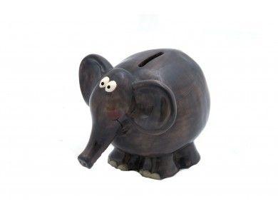 Ceramic Elephant Money Box Moneybox Piggy Bank