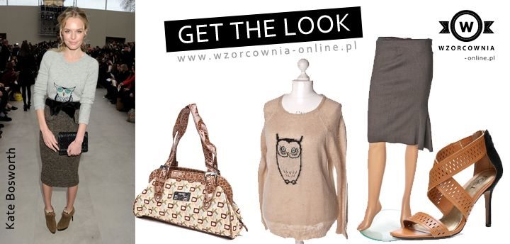 Get the look #sweater, #owl #print