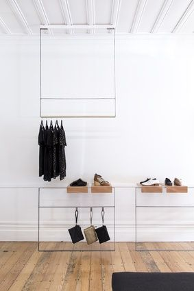 Minimal, chic design showcases the Spring/Summer collection of Revie footwear.