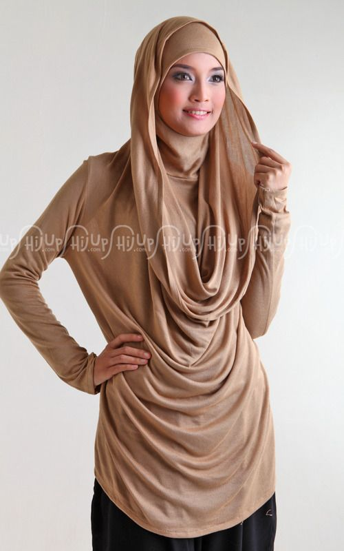 Hoodie Blouse by Ria Miranda. Gorgeous design. click >> www.hijup.com