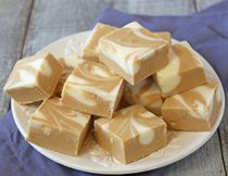 Cappuccino White Chocolate Fudge * I used the Nescafé French Vanilla, really good!  Doesn't have a strong coffee taste