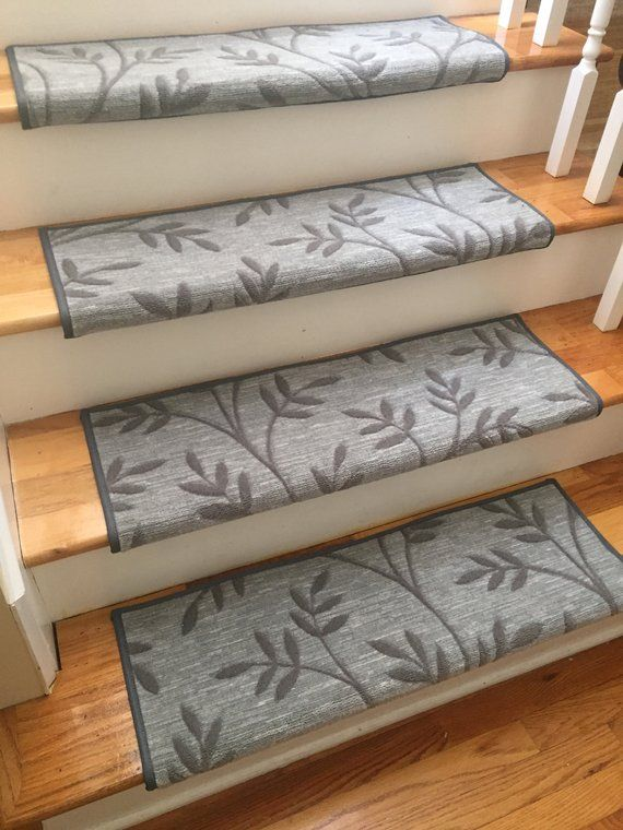 Best Arbor Vine Granite And Other Colors True Bullnose™ Padded Carpet Stair Tread For Safety 400 x 300