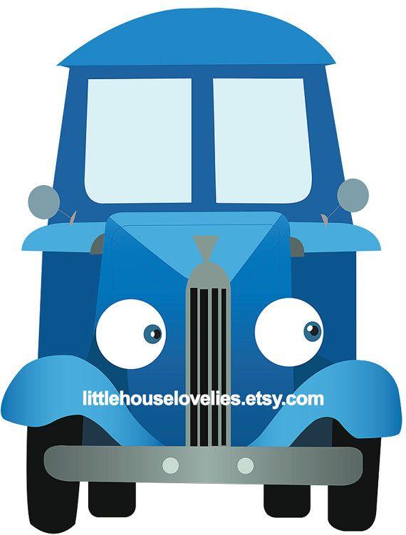 Little Blue Truck Birthday Photo Booth by LittleHouseLovelies