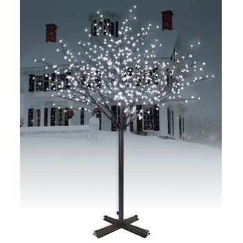Lighted Outdoor Trees 85 best indoor trees images on pinterest elves forests and mother lighted blossom tree great for outdoor christmas decorating or for a winter wedding decoration workwithnaturefo