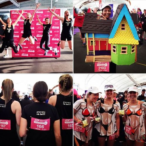 we got our strides on @ this years Women's 6K - she's always a fun one to get amongst! #nobull #skechers6k