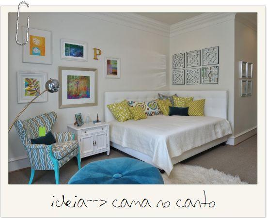Eis a cama que escolhemos Pelo menos parece ser confortável rs
