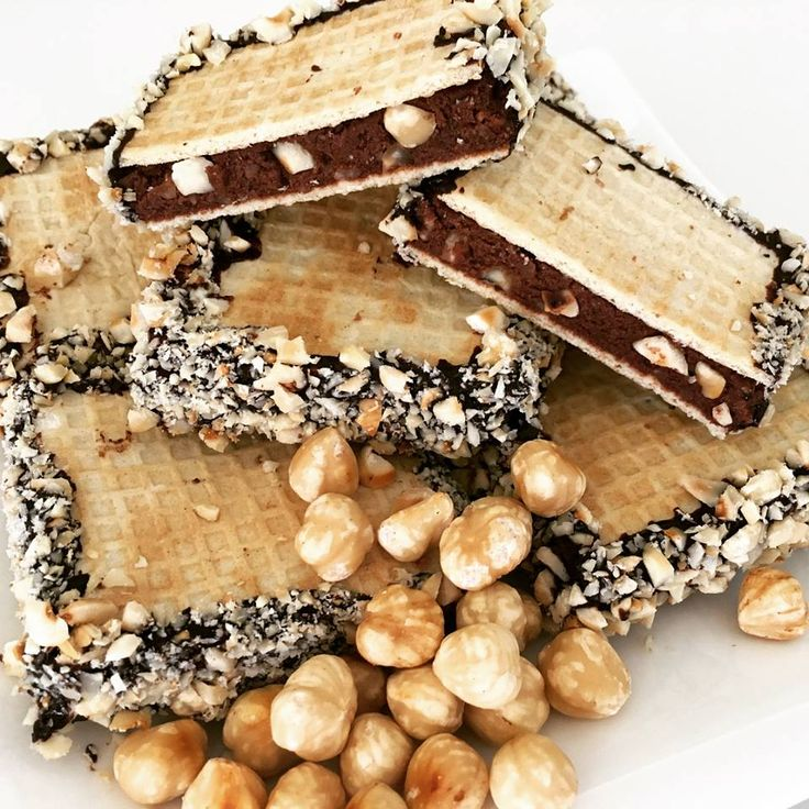 Csokis mogyorós ostya