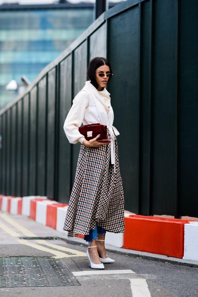 London Fashion Week Spring 2018 Street Style Best Street Style London Fashion Week Fashion