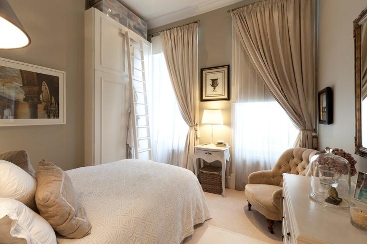спальня / beige bedroom