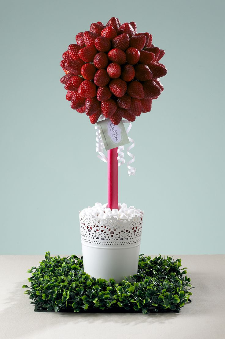 Strawberry Topiary