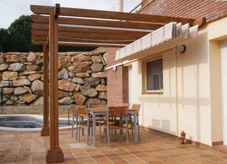 Mejores 51 im genes de porches jardin y terrazas cubiertas for Porches de casas pequenas