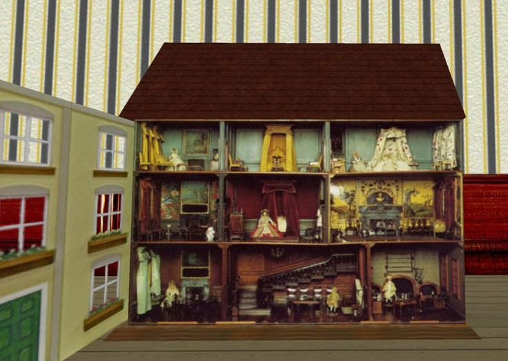 94 Best Images About Dolls Dolls Houses On Pinterest