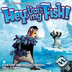 Hey, That's My Fish! | Board Game | BoardGameGeek   Haven't tried this yet. Supposedly good for 2 players.
