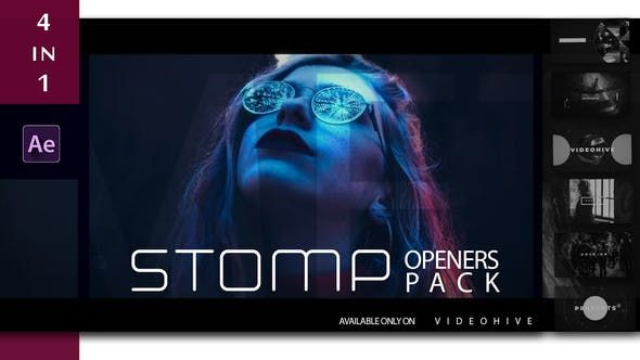 Stomp Openers Pack After Effects Templates Videohive After Effects