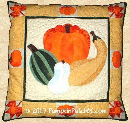 Pumpkin Patch Pillow PPP010-EIN
