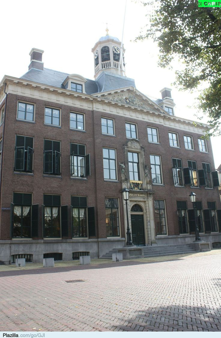 Stadhuis Leeuwarden, Friesland.