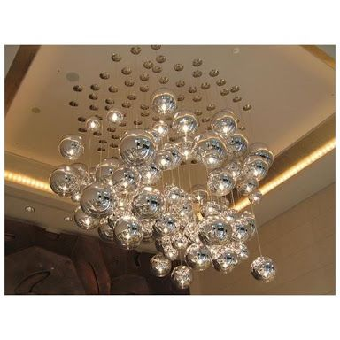disco ball light pendant - Google Search