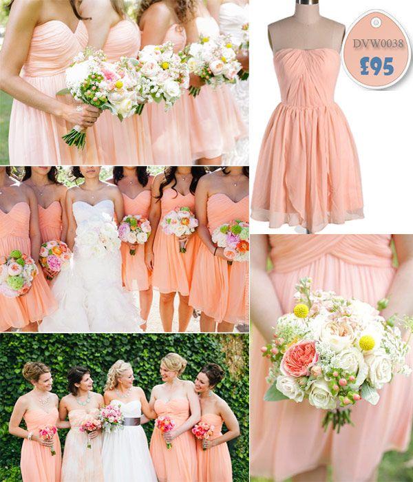 Real Weddings, Wedding Inspiration & Ideas, 2014 Bridesmaid Wedding Dresses Trends | VPonsale Wedding Custom Dresses