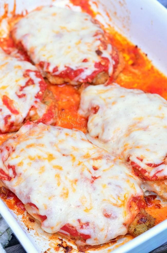 Amazing Chicken Parmesan |from willcookforsmiles.com