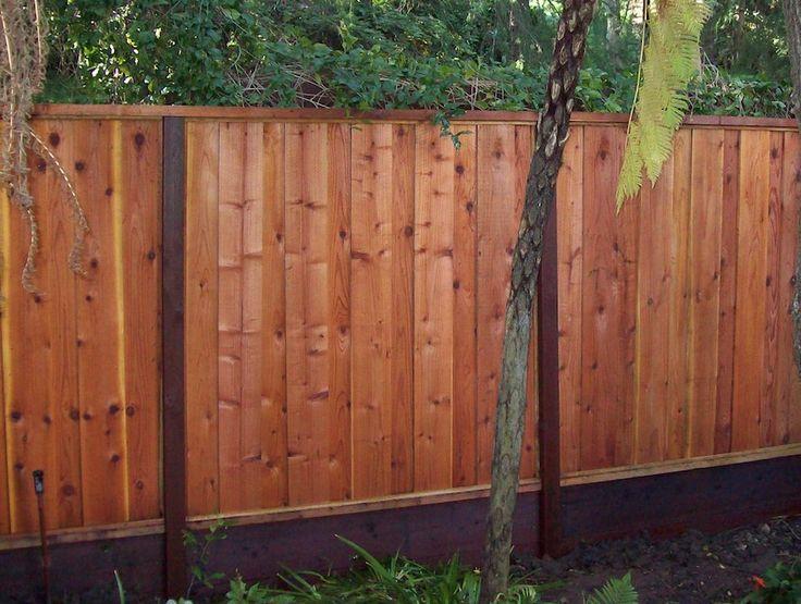 10 Best Vertical Fences Images On Pinterest Redwood