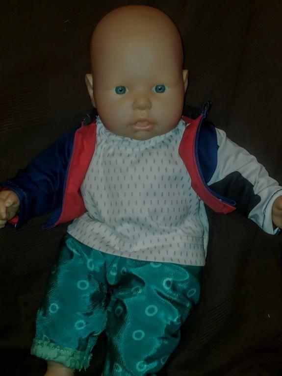 Puppengewan für mein Enkel