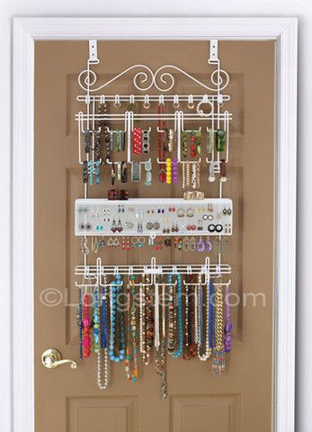 The Longstem® Tabletop Organizing Jewelry Valet with Stand (2pcs) – Longstem Organizers