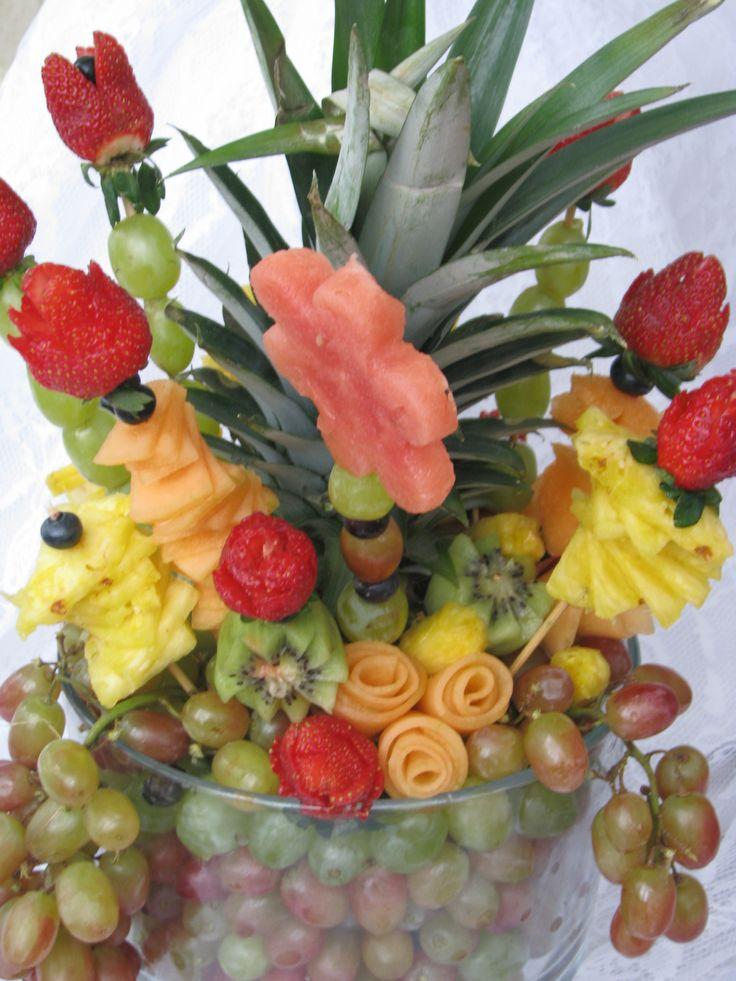 17 best images about edible art on pinterest christmas Fruit bouquet