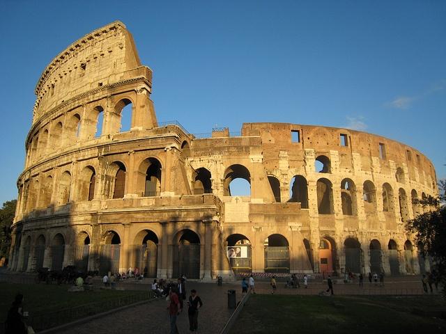 Colosseum, Rome, Italy, 2007