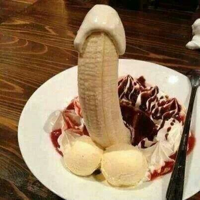Banana Penis Sundae Brings The Phrase Quot Eat A Dick Quot To A Whole New Level Lighten Up A Little