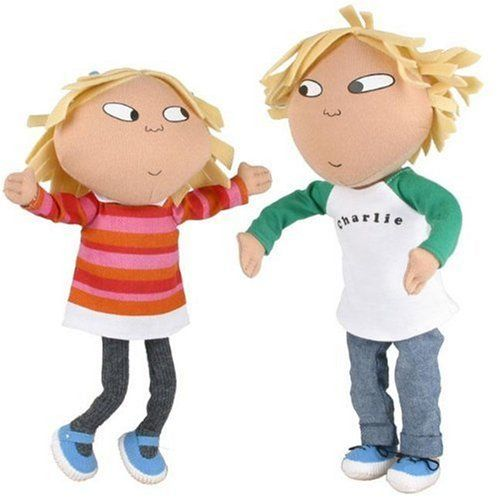 Charlie And Lola Poseable Talking Dolls Part 95