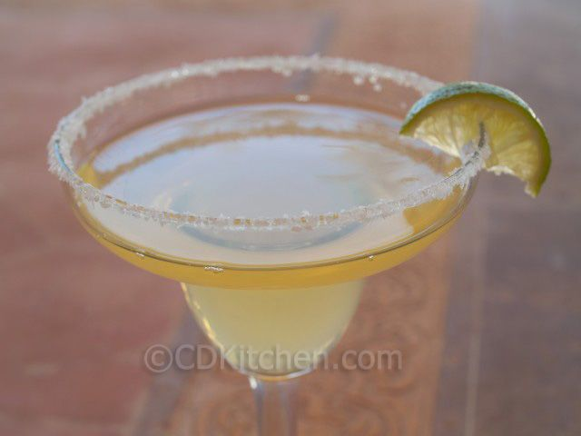 Applebee's Perfect Margarita - CDKitchen.com -  February 22nd is National Margarita Day, and what better way to celebrate than with this popular copycat recipe from Applebees. It's made with tequila, cointreau, grand marnier, fresh lime juice, sweet and sour mix, and simple syrup.