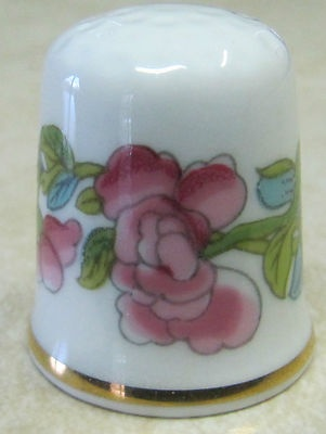 "OAKLEY CHINA, England, ""The Indian Tree"" (TCC): Thimble Thimble, Thimbl Means Consistent, Thimble Lici, Antique Thimbles"