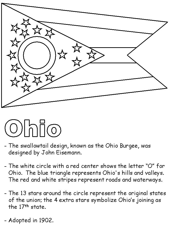 25 best ideas about Ohio Flag
