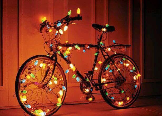 Bike lights.