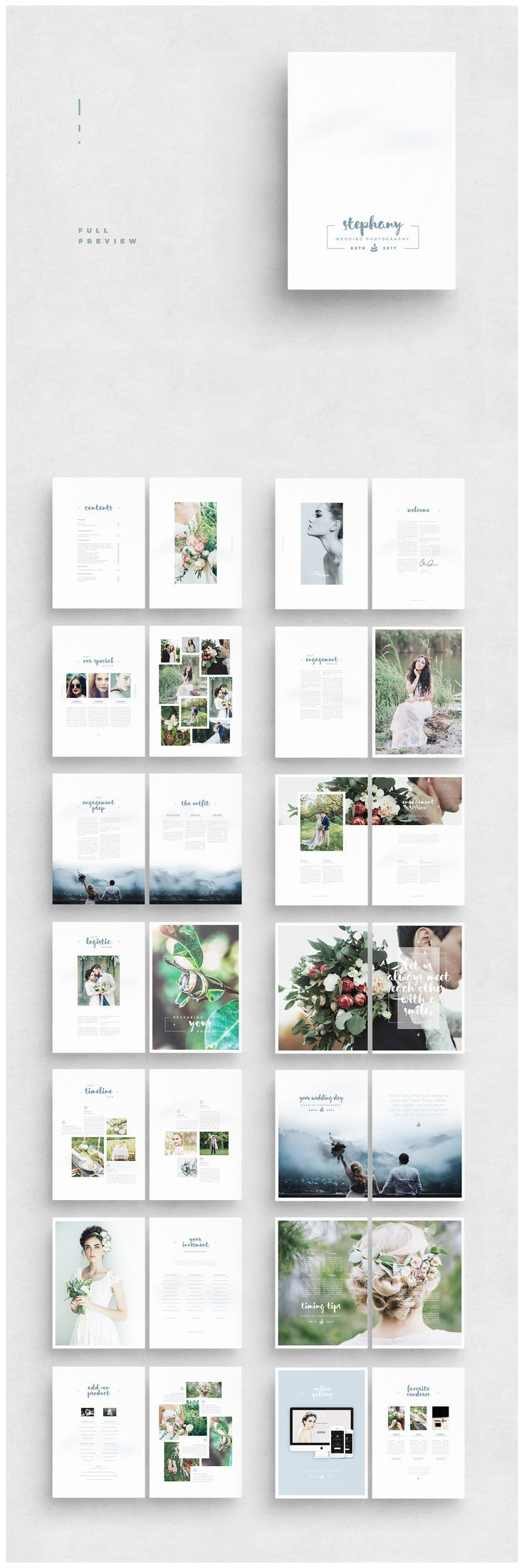 PHOTOGRAPHY PHOTO MARKETING PHOTOGRAPHER TEMPLATE MARKETING WEDDING TEMPLATES PR…